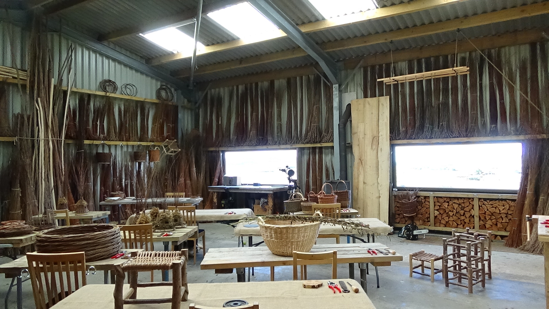 the studio shop is in our sunny workshop on the croft